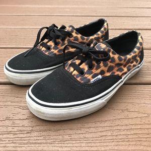 efd4008c79 Vans Cheetah Print Sz 7